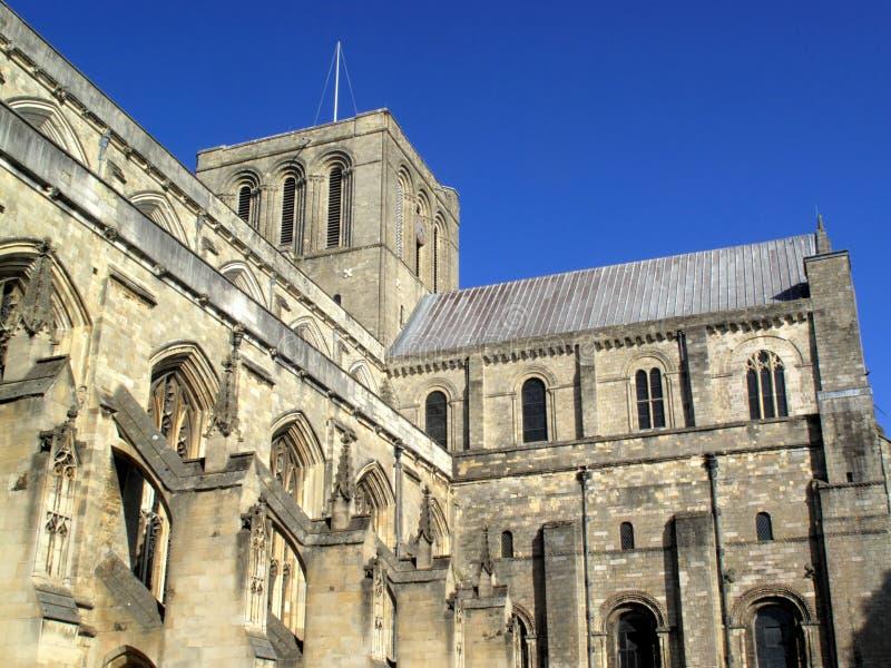 Catedral de Winchester fotografia de stock royalty free