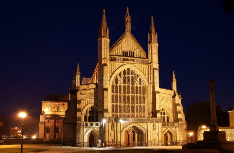 Catedral de Winchester imagens de stock
