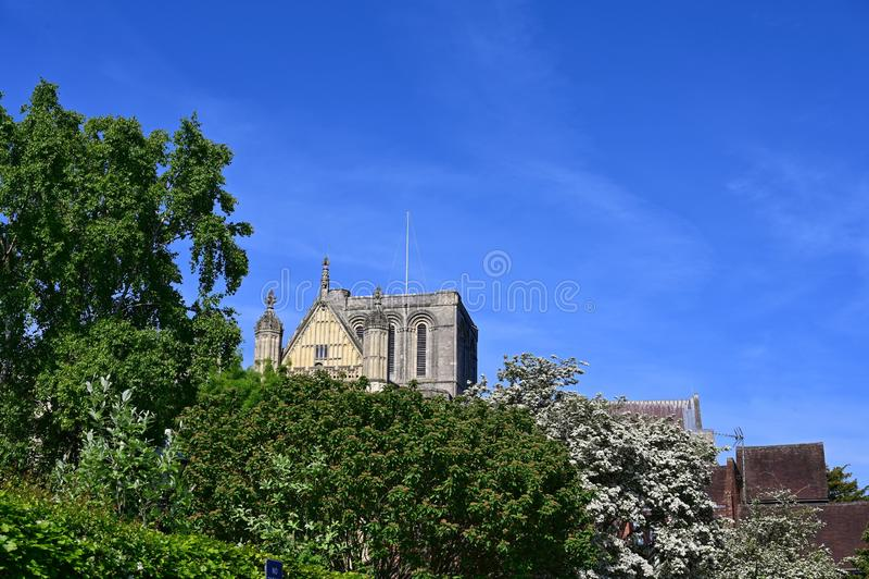 Catedral de Winchester imagem de stock royalty free