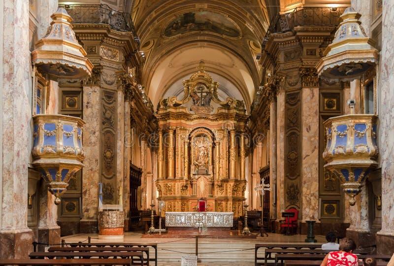 Catedral de Buenos Aires imagem de stock