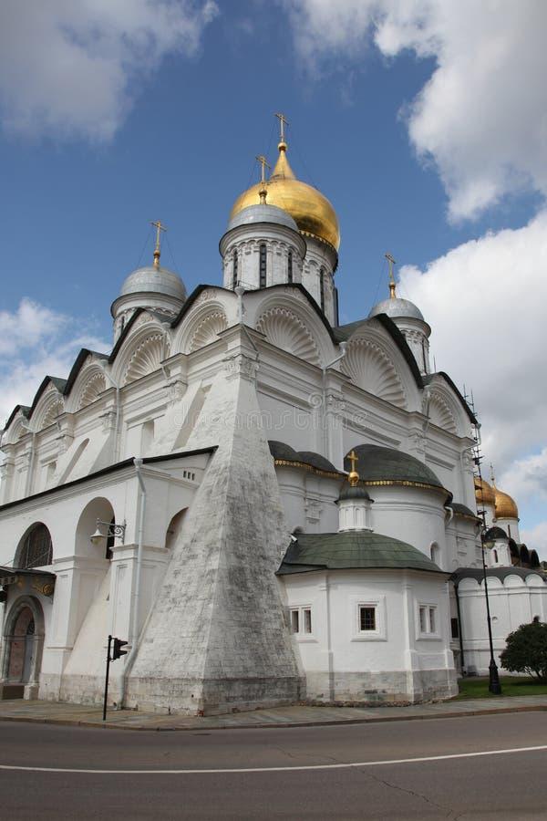 Catedral del arcángel en el Kremlin moscú Rusia fotografía de archivo libre de regalías