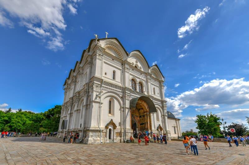 Catedral del arcángel - Moscú, Rusia fotografía de archivo