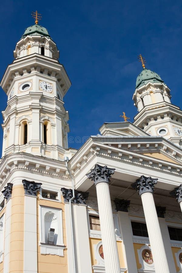 Catedral del católico griego fotos de archivo