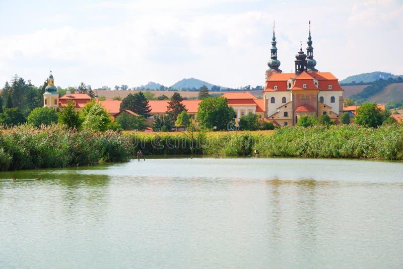 Catedral del cristiano de Velehrad fotos de archivo
