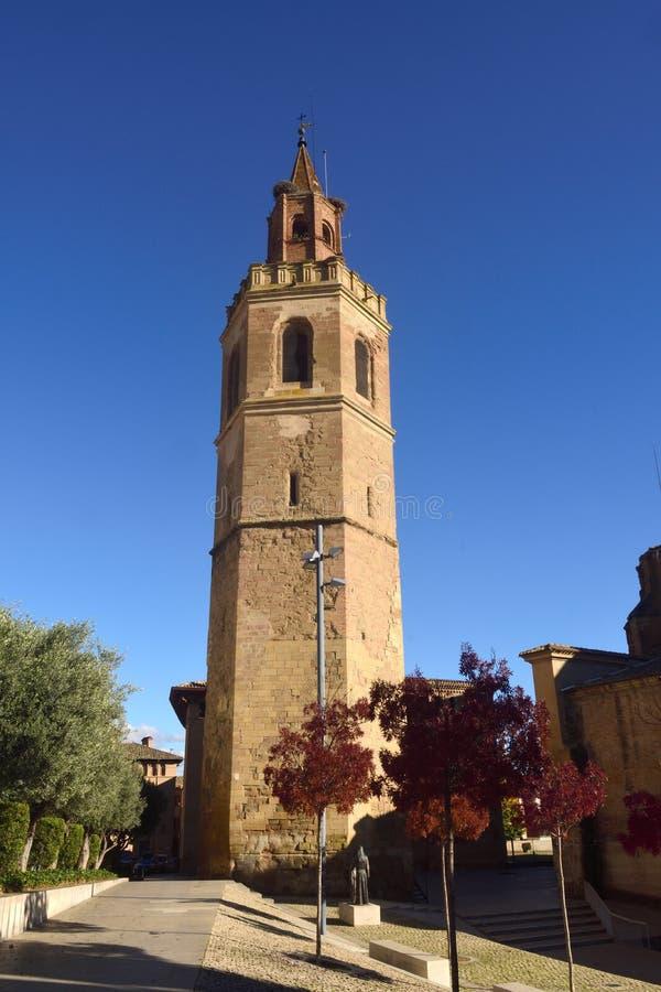 Catedral del La provincia de Asuncion, Barbastro, Huesca, Aragón imagenes de archivo