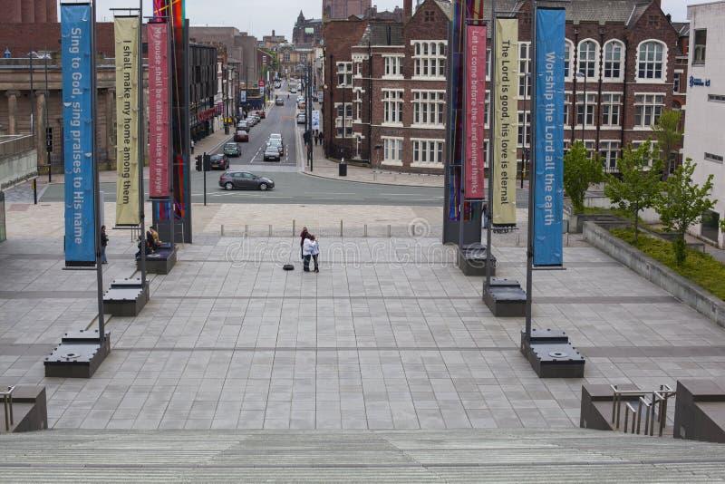 Catedral del metropolitano de Liverpool imágenes de archivo libres de regalías