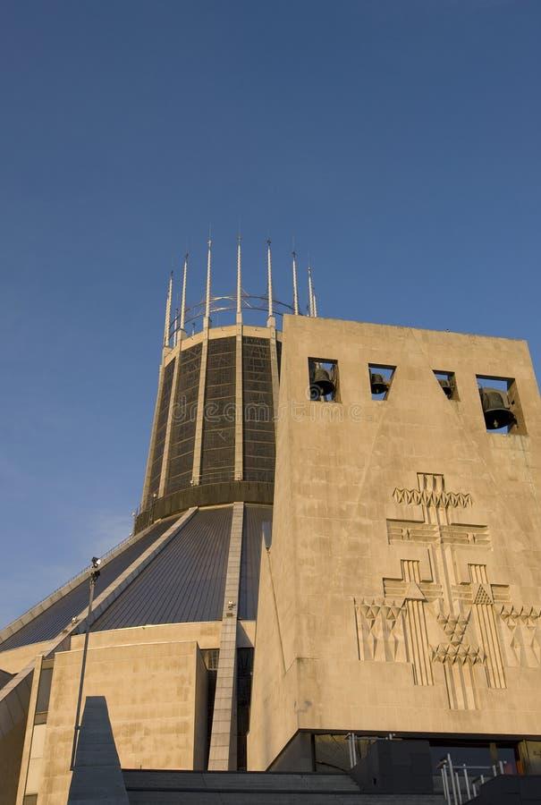 Catedral del metropolitano de Liverpool foto de archivo