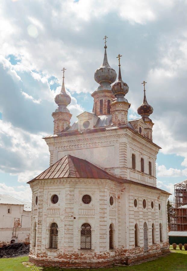 Catedral del monasterio de Michael Archangel en Yuryev-Polsky, Vladimir Region, Rusia imagen de archivo