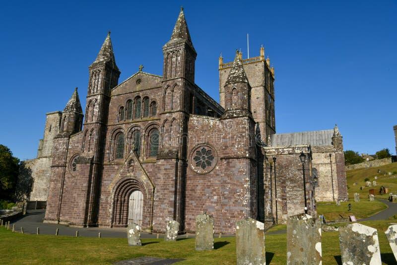Catedral del ` s de St David fotos de archivo libres de regalías