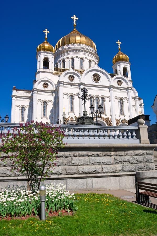 Catedral del salvador de Cristo foto de archivo libre de regalías
