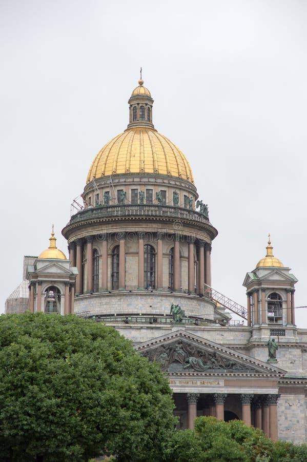 Catedral del santo Isaac de Dalmacia imágenes de archivo libres de regalías