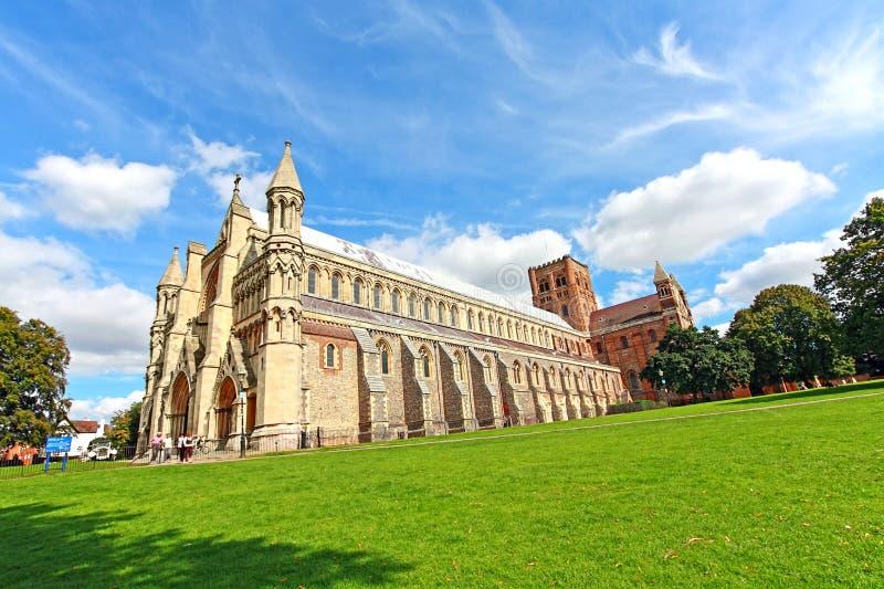 Catedral del St Albans, Inglaterra, Reino Unido foto de archivo libre de regalías