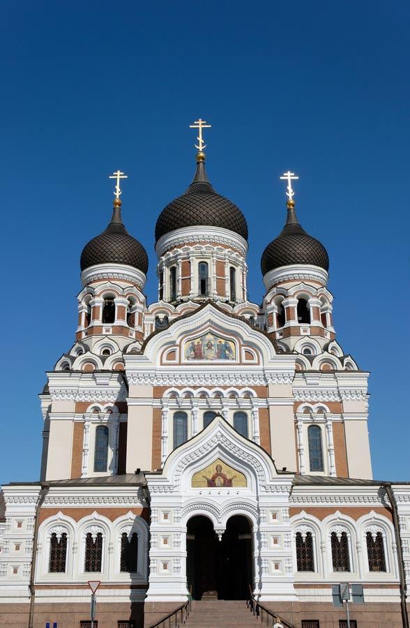 Catedral del St. Alexander Nevsky imagen de archivo libre de regalías