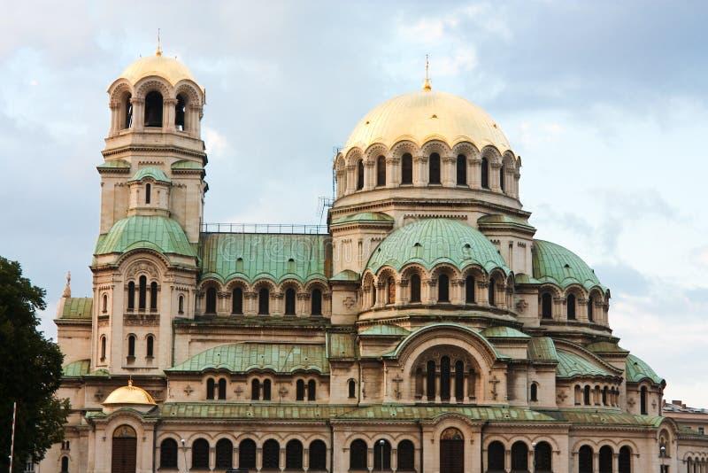 Catedral del St. Alexander Nevsky, Sofía imagenes de archivo