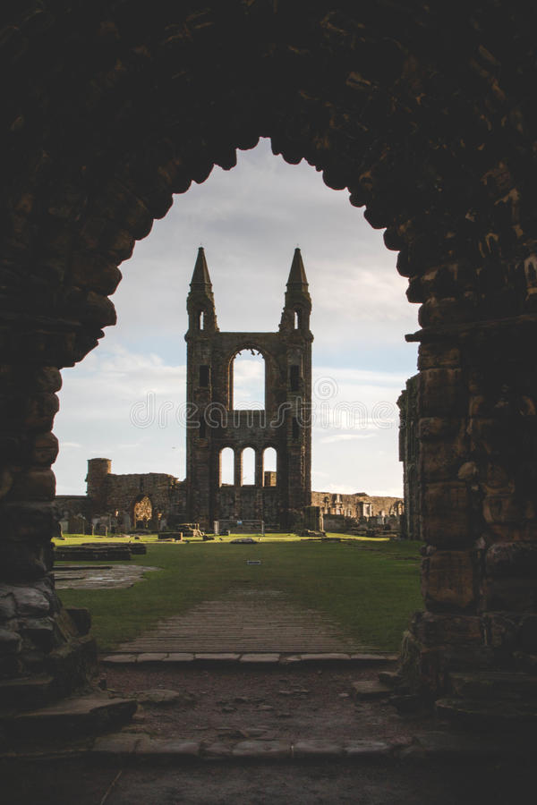 Catedral del St Andrew imagenes de archivo