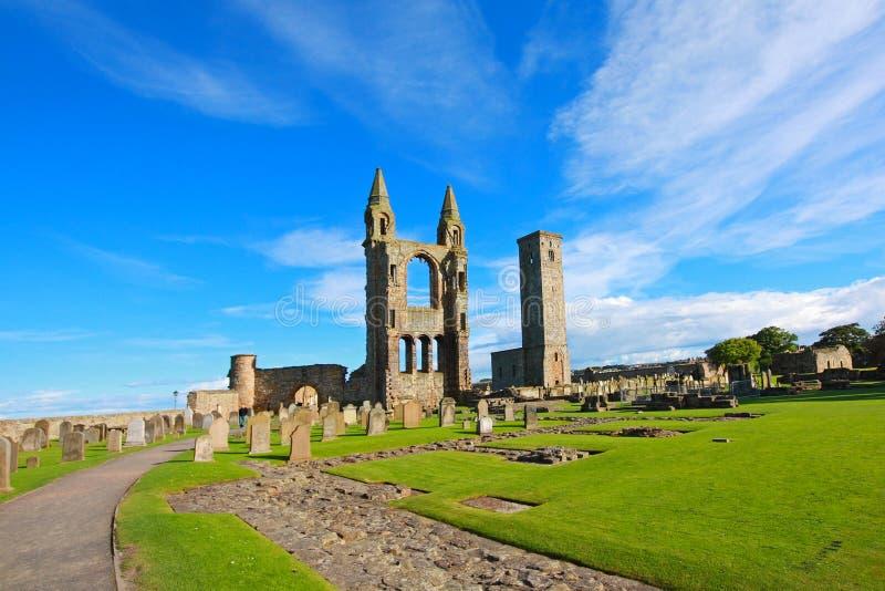Catedral del St Andrews fotografía de archivo libre de regalías