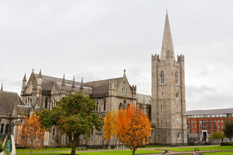 Catedral del St. Patrick. Dublín, Irlanda foto de archivo