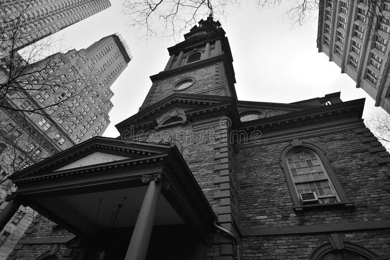 Catedral del St (santo) Paul, New York City imágenes de archivo libres de regalías