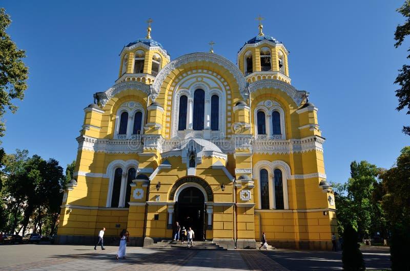 Catedral del St Volodymyr, Kiev imagen de archivo libre de regalías