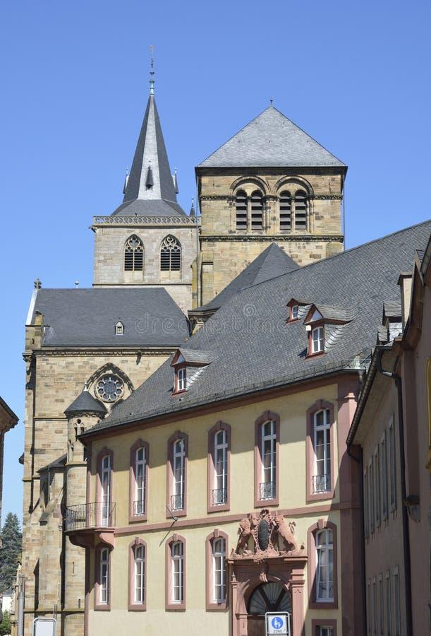 Catedral del Trier imagenes de archivo