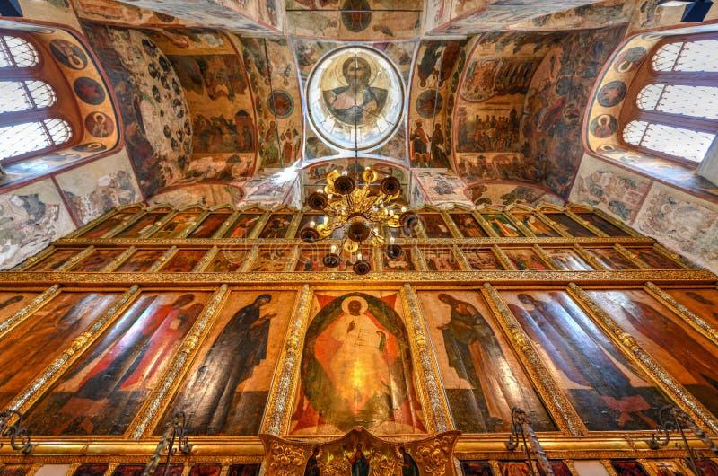 Catedral do aviso - Moscou, Rússia fotografia de stock royalty free