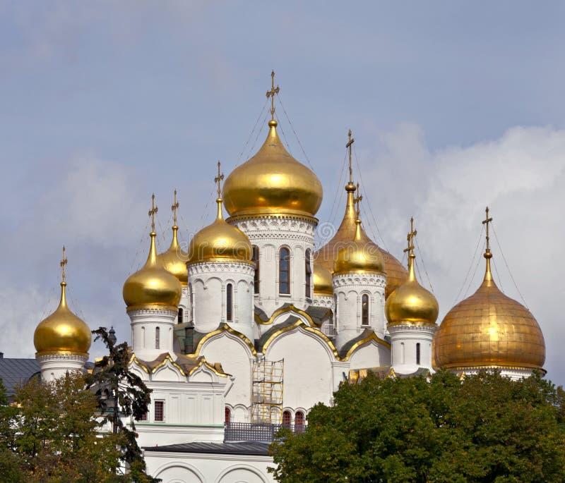 Catedral do aviso, Moscovo fotografia de stock royalty free