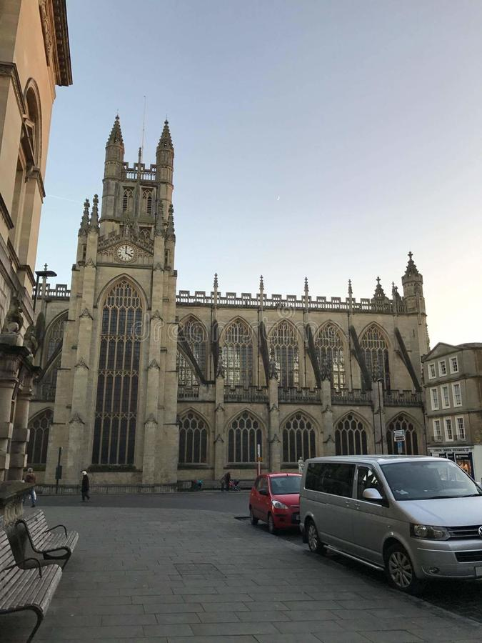 Catedral do banho imagens de stock