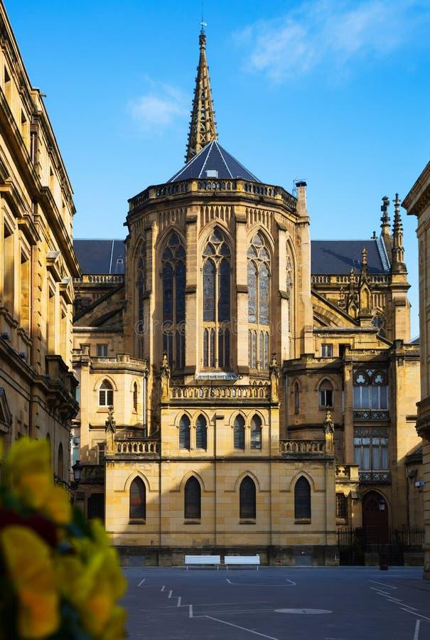 Catedral do bom pastor no dia ensolarado imagens de stock royalty free