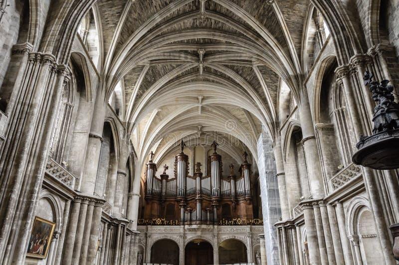 Catedral do Bordéus imagem de stock royalty free