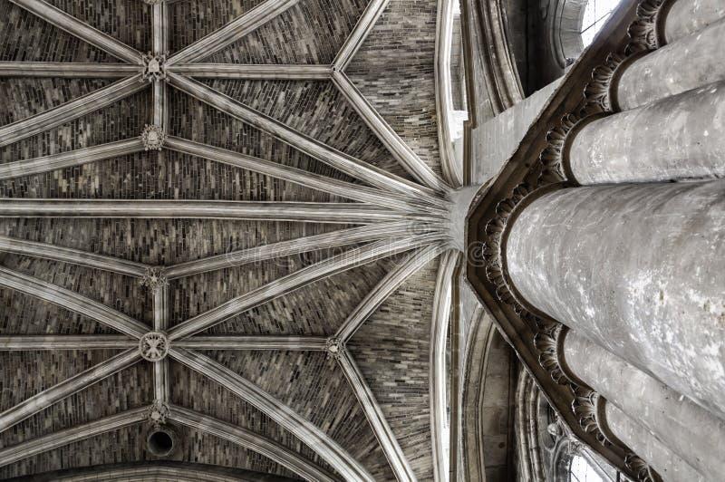 Catedral do Bordéus imagem de stock