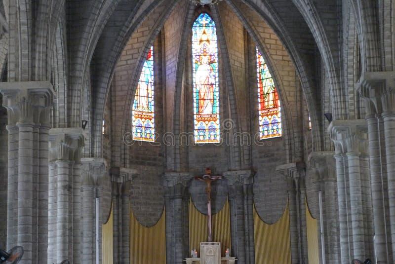 Catedral do católico da catedral fotos de stock