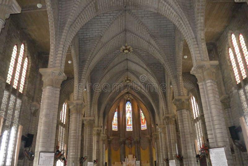 Catedral do católico da catedral fotografia de stock