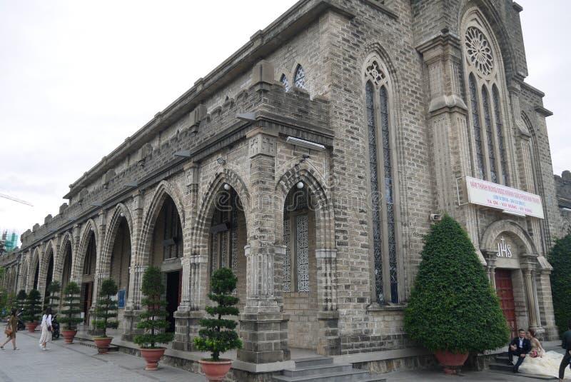 Catedral do católico da catedral fotografia de stock royalty free