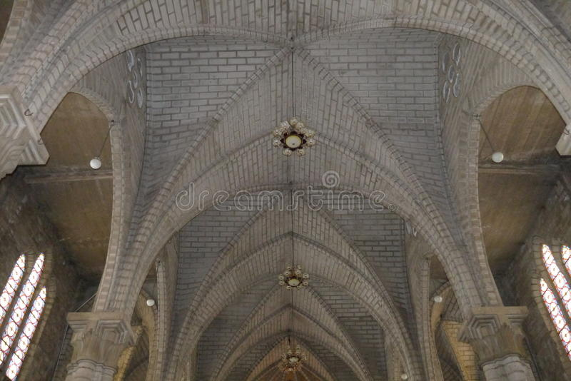 Catedral do católico da catedral imagem de stock
