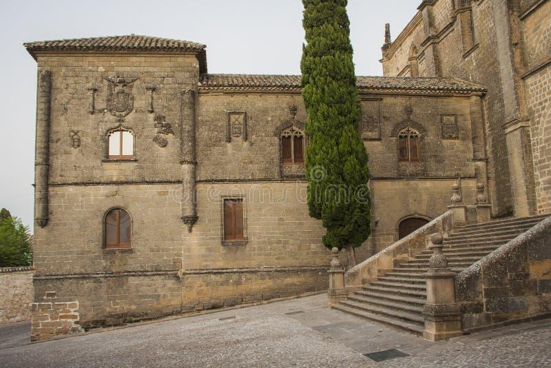 Catedral do claustro de Baeza II foto de stock royalty free