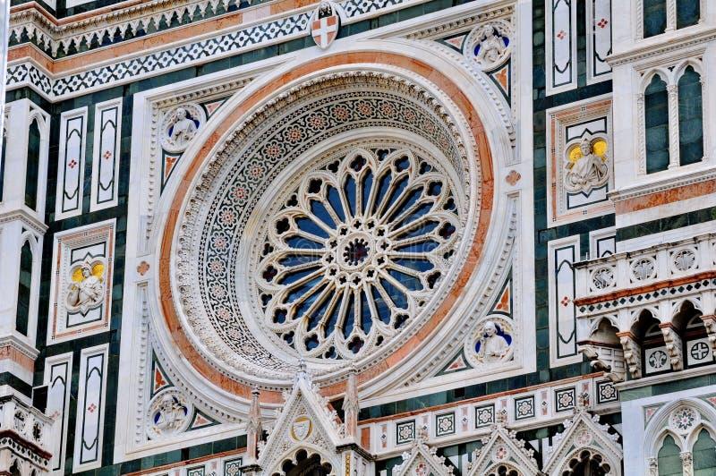 Catedral do domo em Florença, Italy imagem de stock