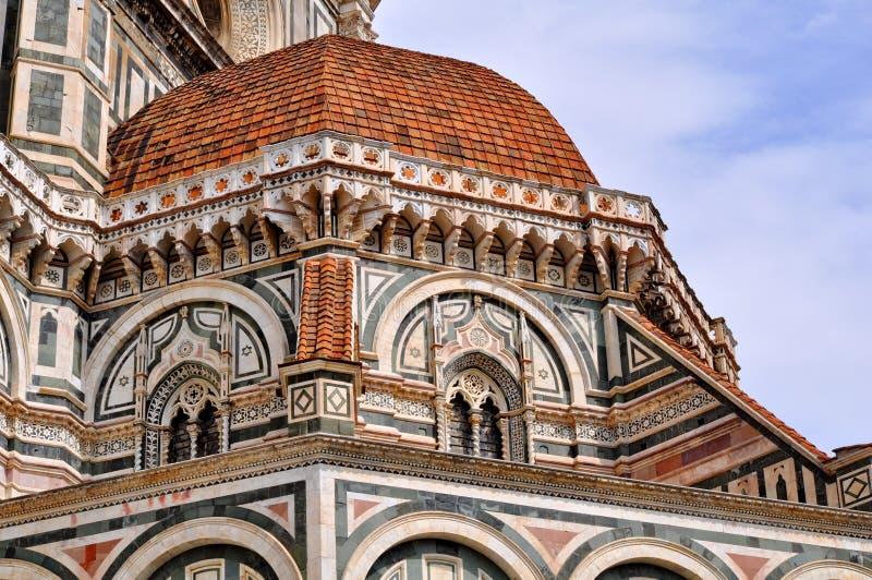 Catedral do domo em Florença, Italy foto de stock