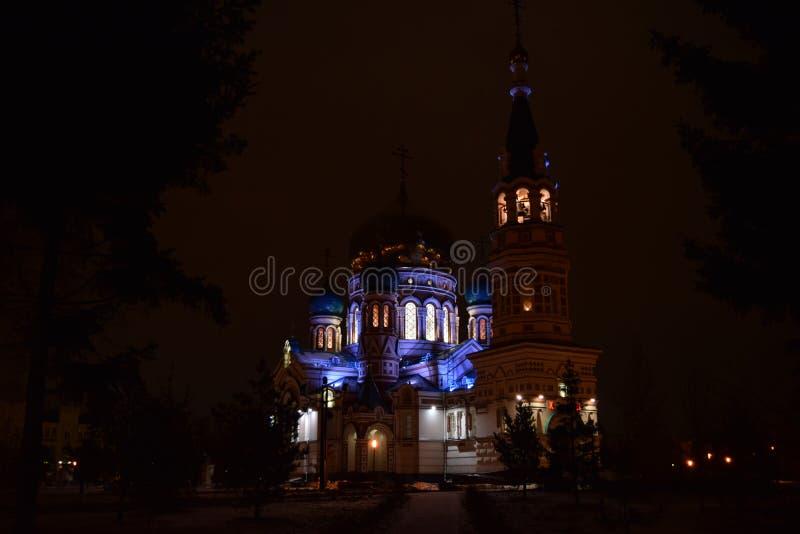 Catedral do Dormition imagem de stock royalty free