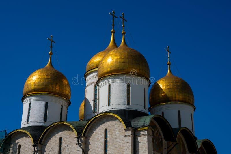A catedral do Dormition igualmente conhecido como a catedral da suposição fotografia de stock royalty free