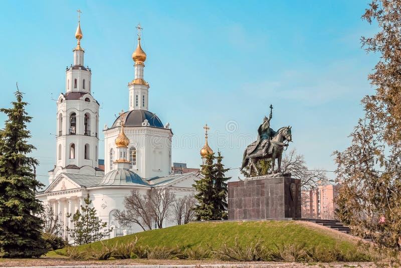 Catedral do esmagamento em Oryol imagens de stock royalty free