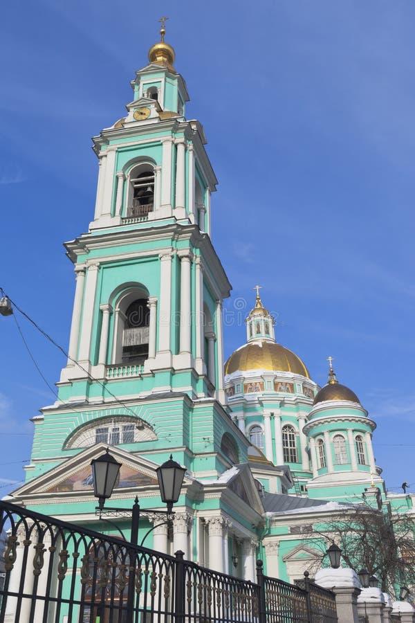 Catedral do esmagamento em Yelokhovo Moscou fotografia de stock