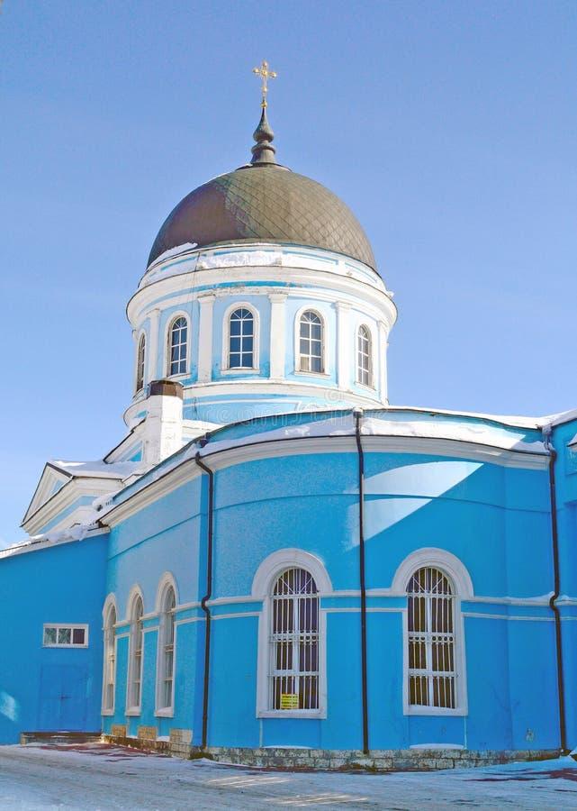 Catedral do esmagamento, região de Rússia, Moscou, Noginsk fotografia de stock
