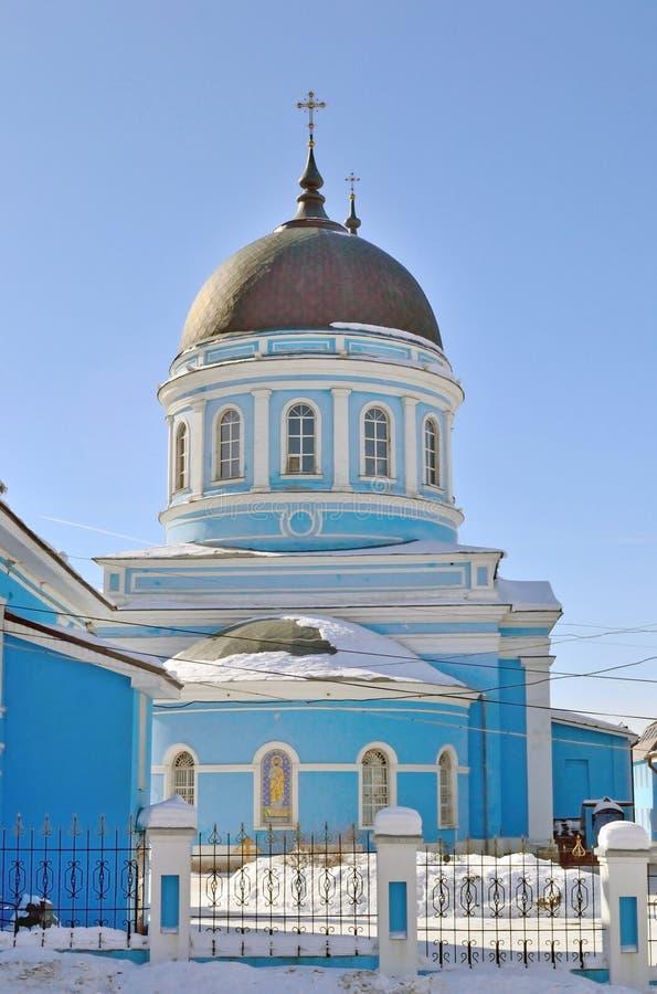 Catedral do esmagamento, região de Rússia, Moscou, Noginsk foto de stock