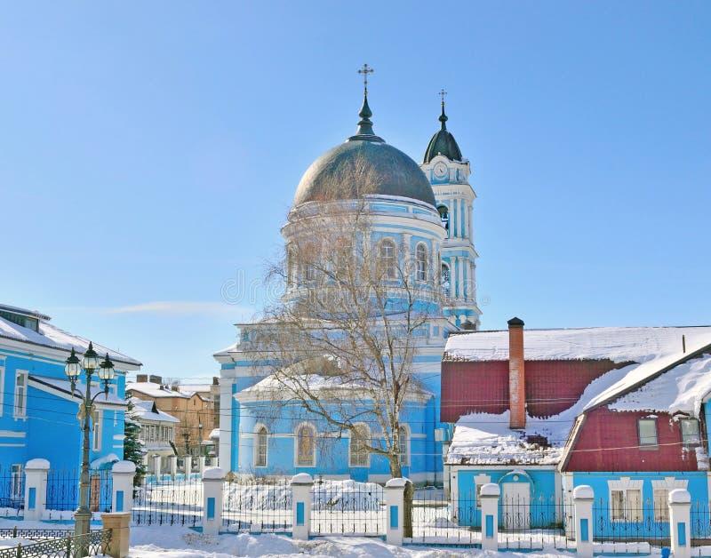 Catedral do esmagamento, região de Rússia, Moscou, Noginsk imagens de stock