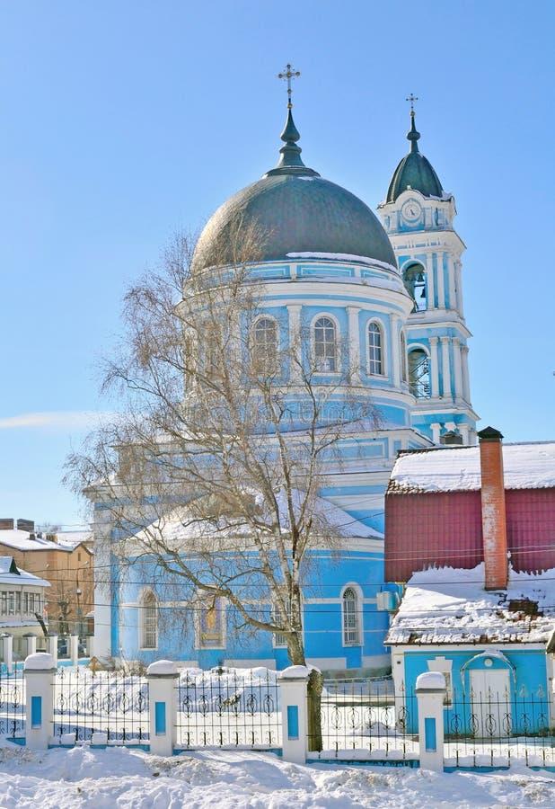 Catedral do esmagamento, região de Rússia, Moscou, Noginsk imagens de stock royalty free