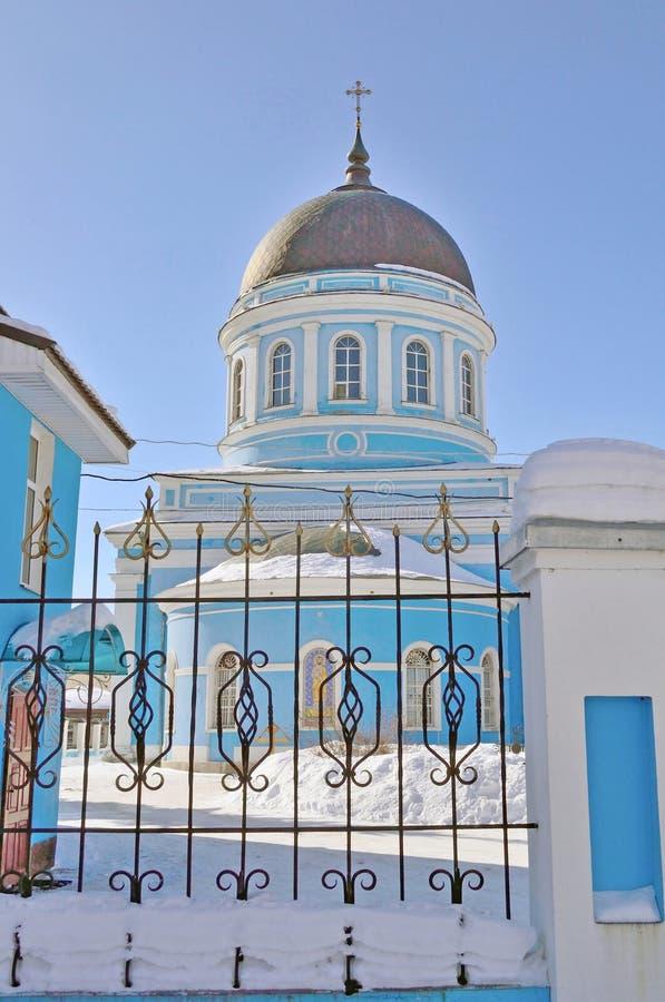Catedral do esmagamento, região de Rússia, Moscou, Noginsk imagem de stock royalty free