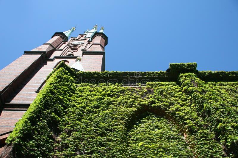 Catedral do estado de Éstocolmo imagem de stock royalty free