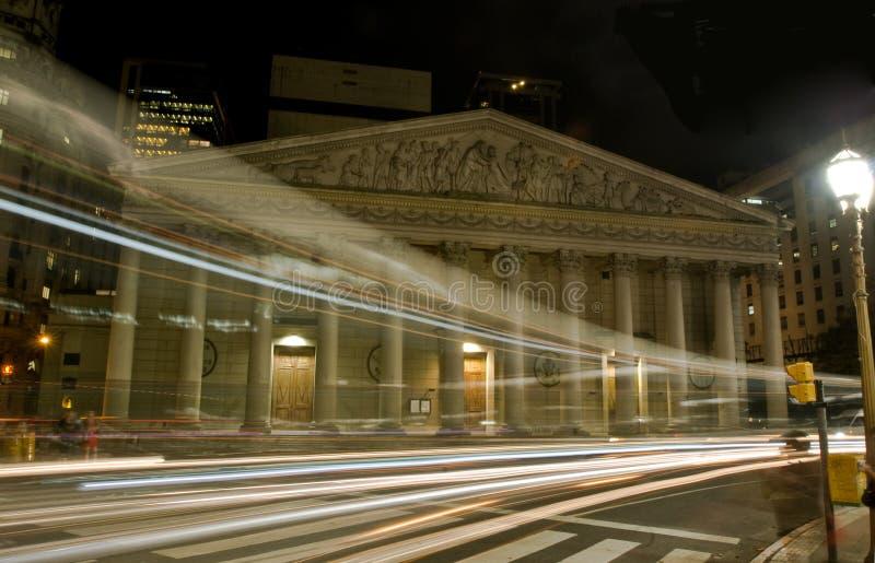 Catedral do metropolita de Buenos Aires foto de stock