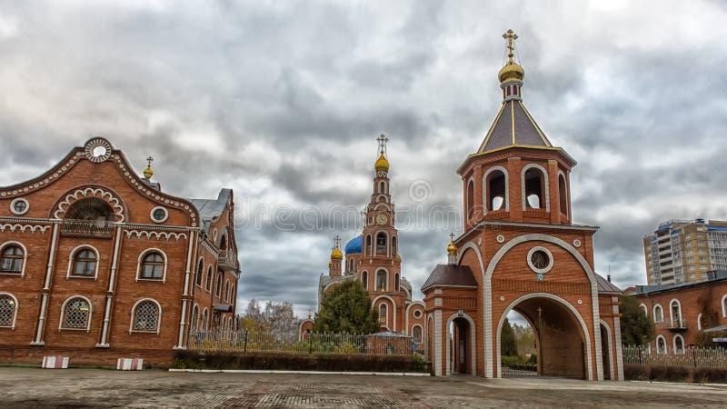 A catedral do príncipe santamente Vladimir dos Igual-à--apóstolos, foto de stock