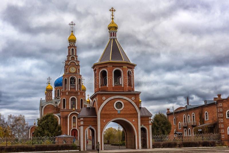 A catedral do príncipe santamente Vladimir dos Igual-à--apóstolos, fotos de stock